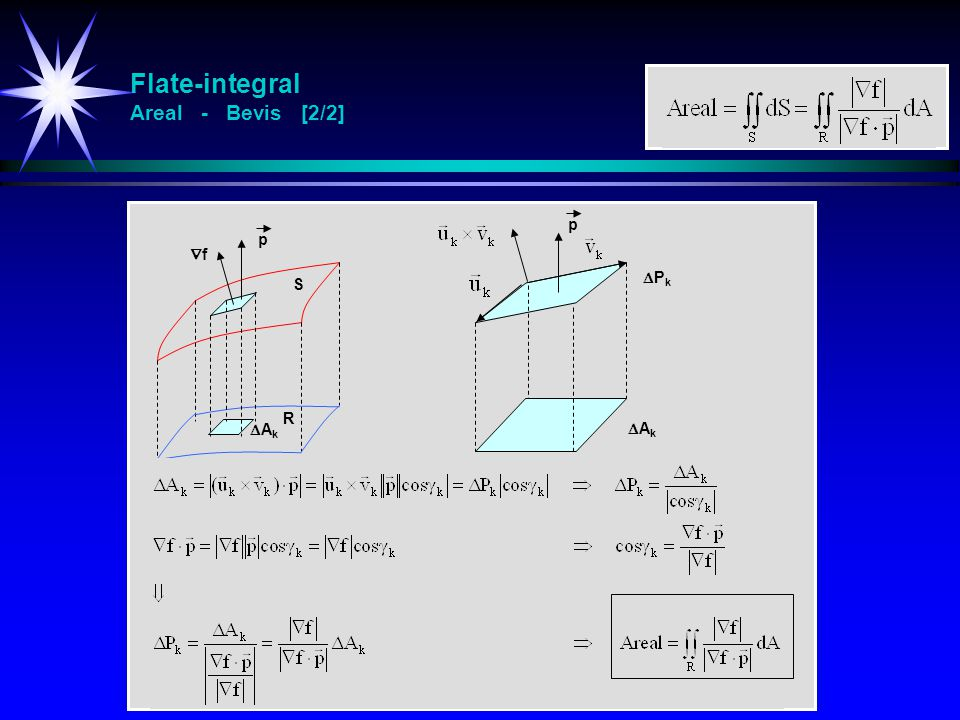 Flate-integral Areal - Bevis [2/2]